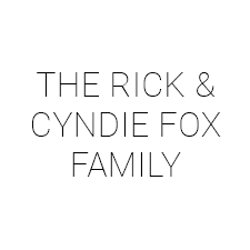 RICK AND CYNDIE FOX
